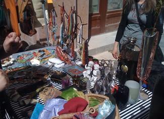 Mercado judio a domingo