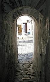 Szentendre - calle estrecha
