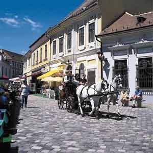Szentendre - coche de caballos